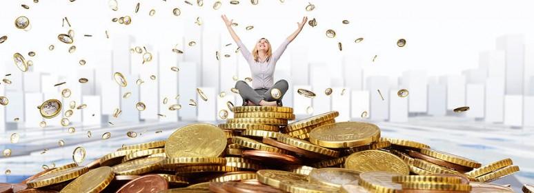 finansowa radość