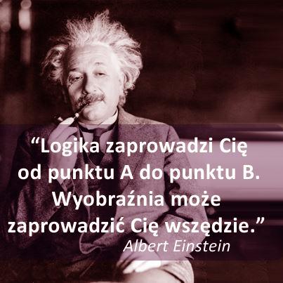 Einstein - LOGIKA KONTRA WYOBRA?NIA